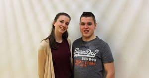 Leandra & Flavio (unser jüngstes Turniertanzpaar)